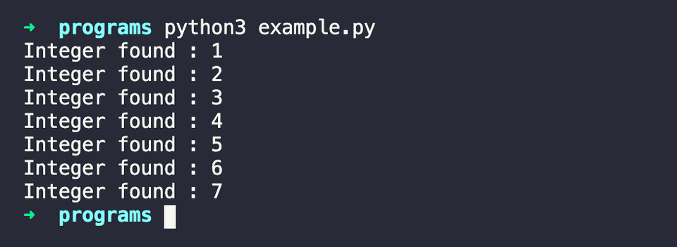 python read all numbers file