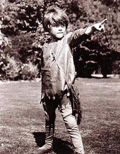 Peter Pan; Michael llewelyn Davies