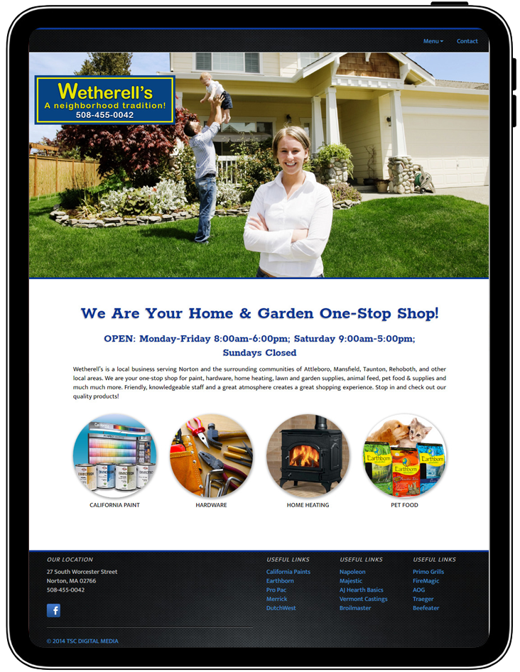 Wetherells website