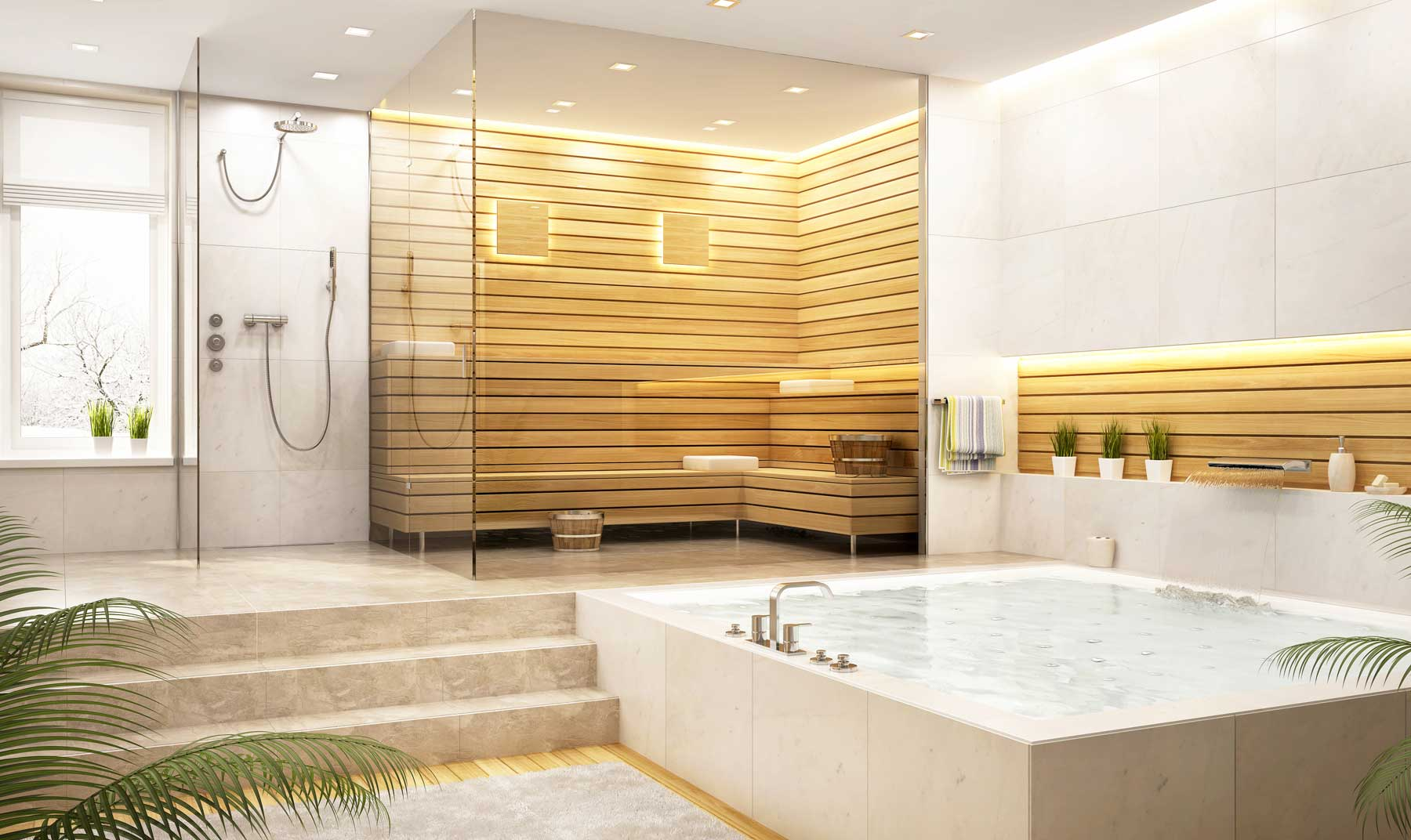 Glass Partitions/Specialty Glass Shower Screens