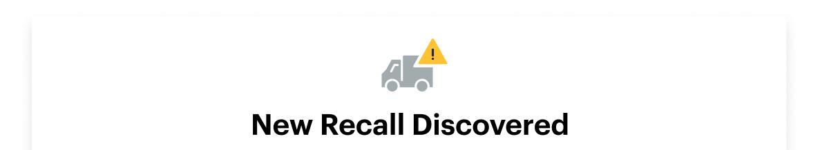 recalls-tracking