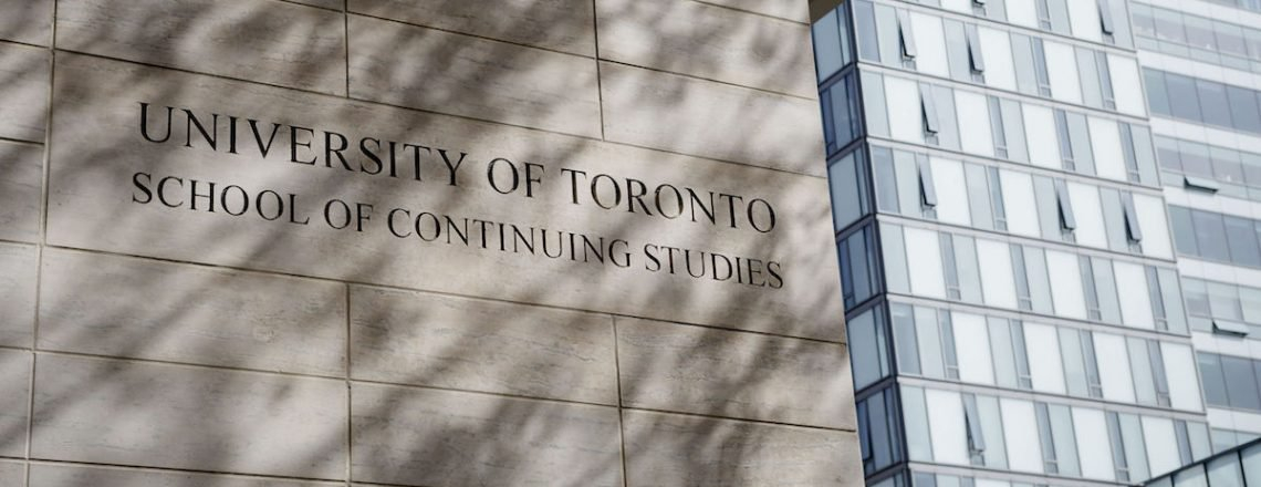 Upclose image of the University of Toronto School of Continuing Education Building