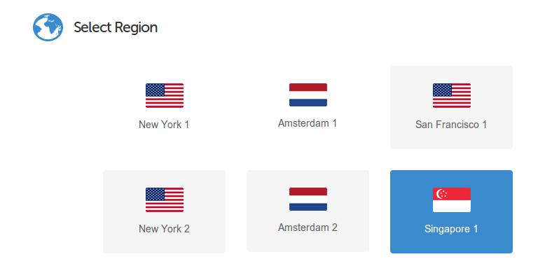 เลือก Region