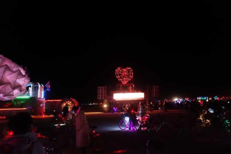 Burning Man Robot Heart