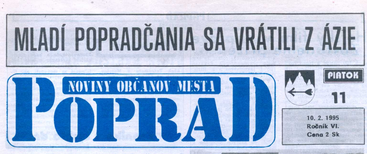 Noviny Poprad (hlavička)