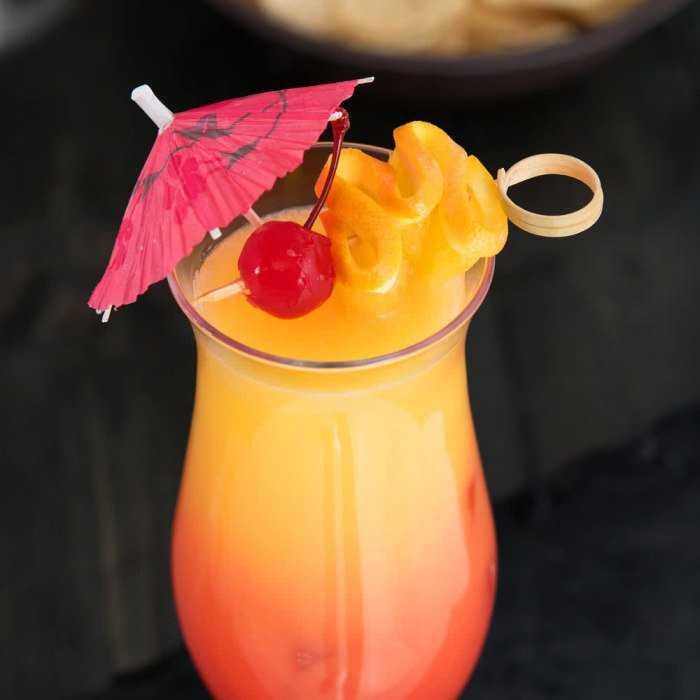 Orange Push-up Cocktail