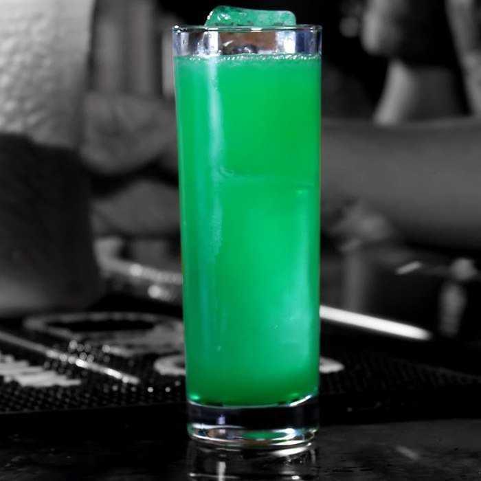 Radioactive Long Island Iced Tea Cocktail