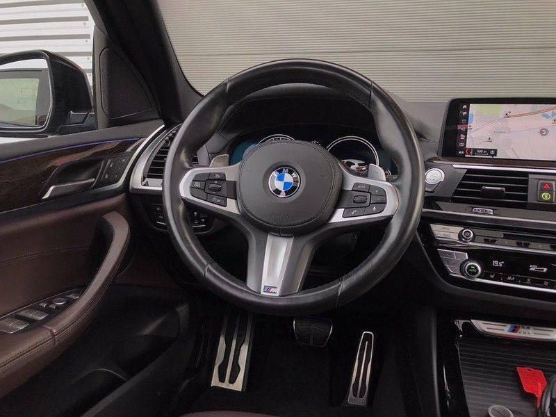 BMW X3 M40i VERKOCHT X-Drive M-Sport, 360PK, Pano, Head-Up, Keyless, Camera, Navi, Leder, 20INCH BTW! afbeelding 13
