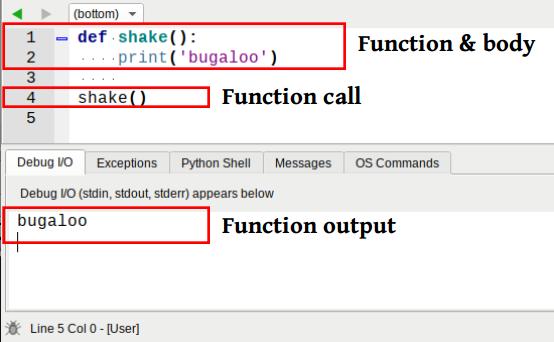 python function