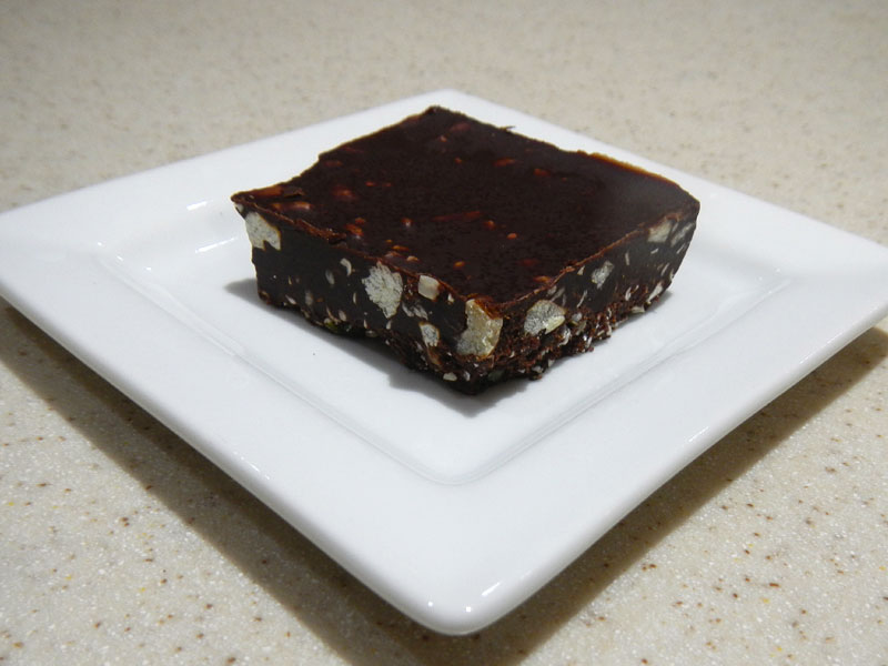 Raw Chocolate Bliss Side