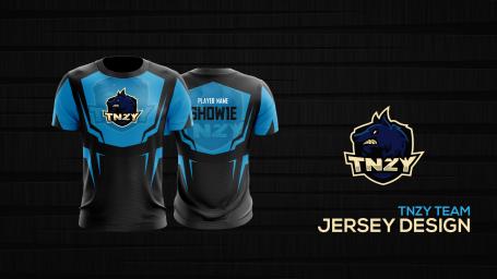 TNZY_eSport Jersey Design