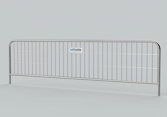 3.5m Metal Pedestrian Barrier