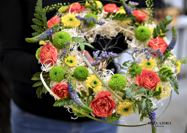 клеевая техника роза азора