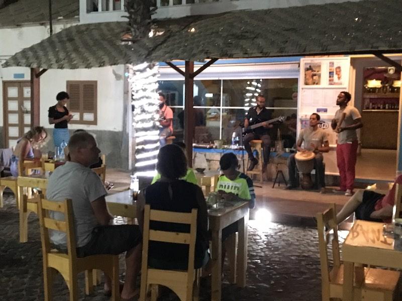 Street concerts are popular in Santa Maria