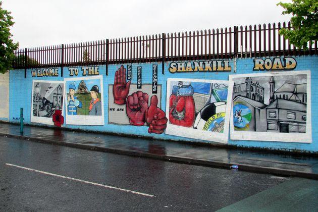 Chauffeur Me Tour Location - Shankill Road