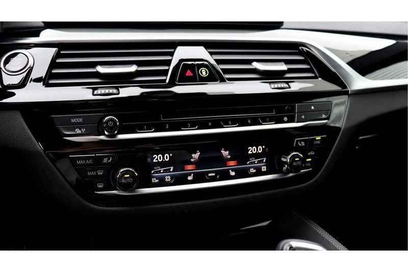 BMW 5 Serie M550i xDrive High Executive Head- Up Display, Schuifdak, Harman/Kardon afbeelding 4