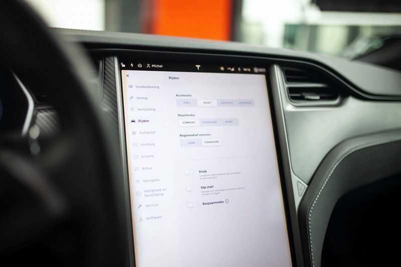 "Tesla Model S 100D Performance *Verb. Autopilot / 21"" LM / Pano* afbeelding 14"