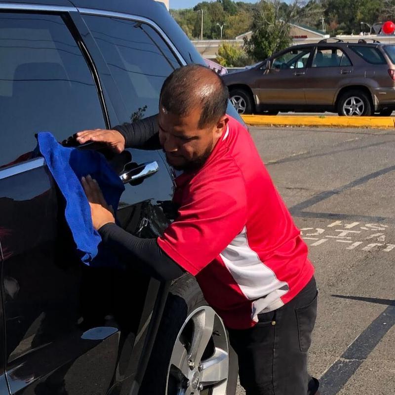 Johnny Flores of Sponge Brothers Car Wash