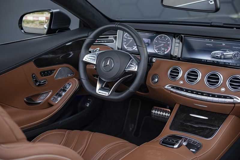 Mercedes-Benz S63 Cabrio 63 AMG 4Matic DISTRONIC + BTW + BURMESTER afbeelding 8