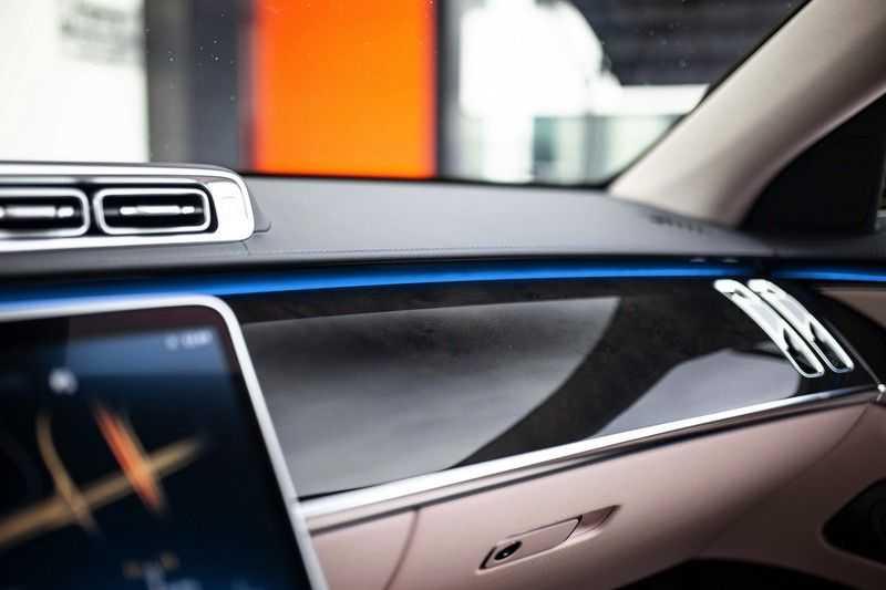"Mercedes-Benz S-Klasse 500 4Matic Lang AMG *Pano / 3D Burmester / HUD / Distronic / 21"" / 3D Display* afbeelding 24"