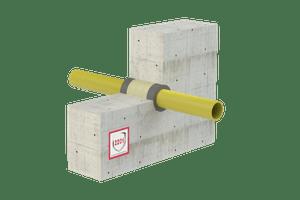 Rješenje - Protupožarno brtvljenje električnih kabela i gorivih cijevi - FS Acrylic (graphite)