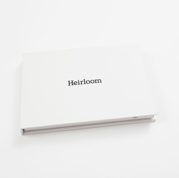 Heirloom book cover