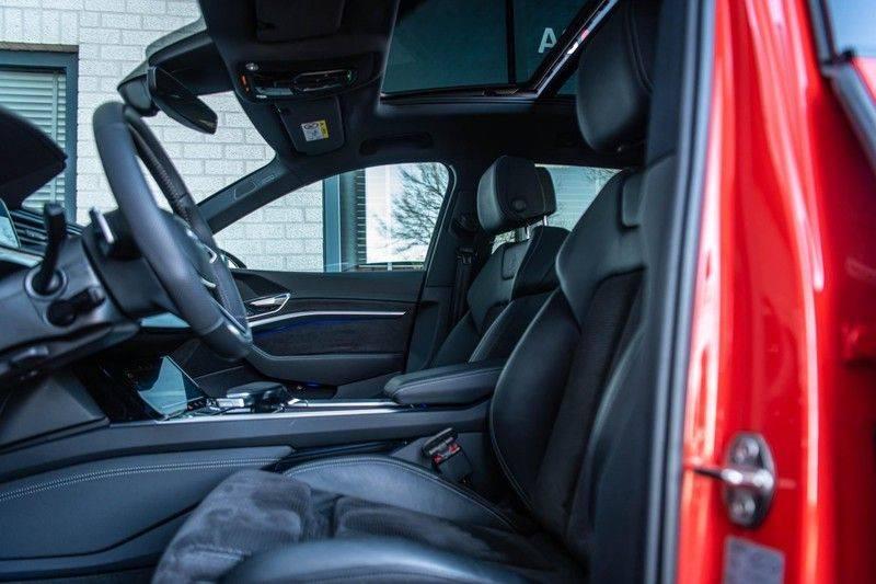 Audi e-tron 55 Quattro Advanced Exterieur, 408 PK, 4% bijtelling, Head/Up display, Pano/Dak, Night/Vision, S-line interieur, 15DKM afbeelding 10