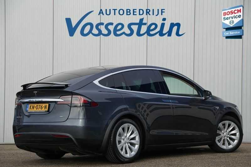Tesla Model X 90D Base 6p. 6-Persoons / Panoramadak / Camera / Luchtvering / 112dkm NAP / NL-Auto afbeelding 4