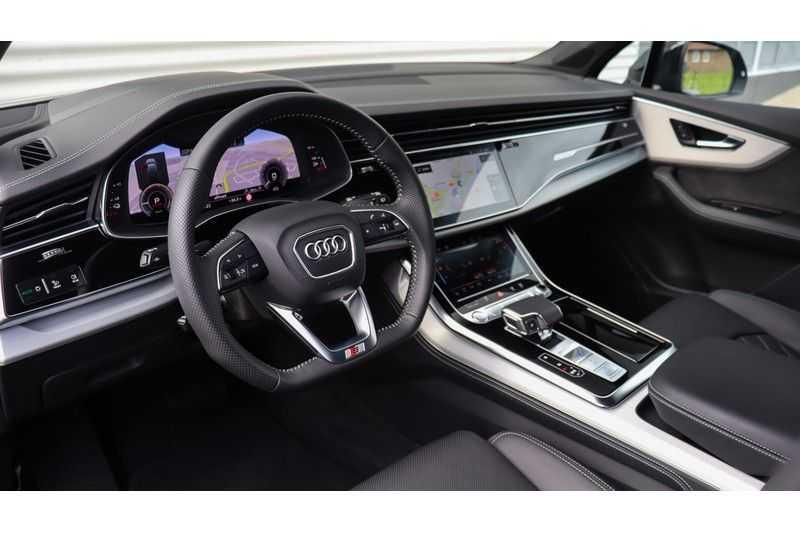 Audi Q7 60 TFSI e quattro Competition Panoramadak, BOSE, Massage, Ruitstiksel, Trekhaak afbeelding 11