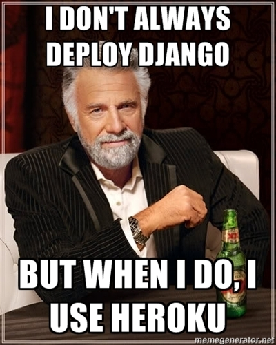 Deploying Django Meme