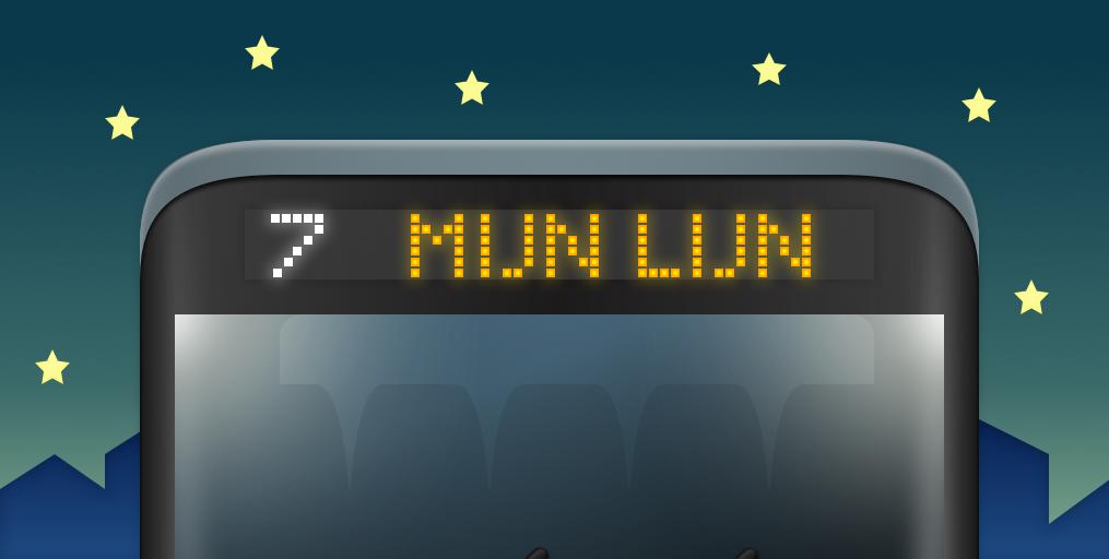 MijnLijn Dark logo header