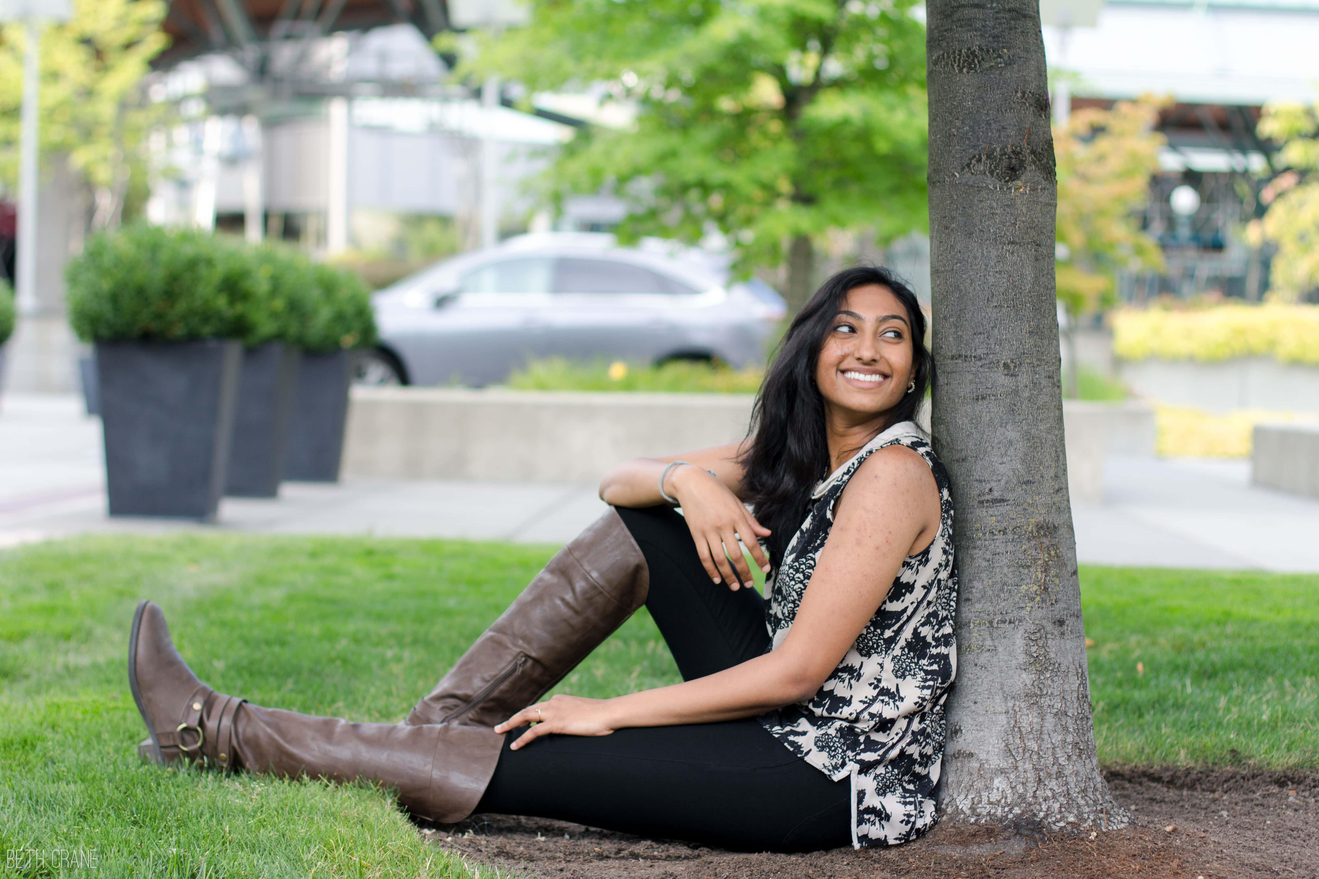 Sneha Jayaprakash is kickstarting her career