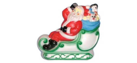 Santa & Sleigh photo