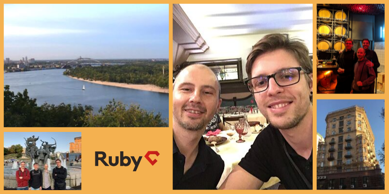 Ruby on rails developers at the RubyC conference