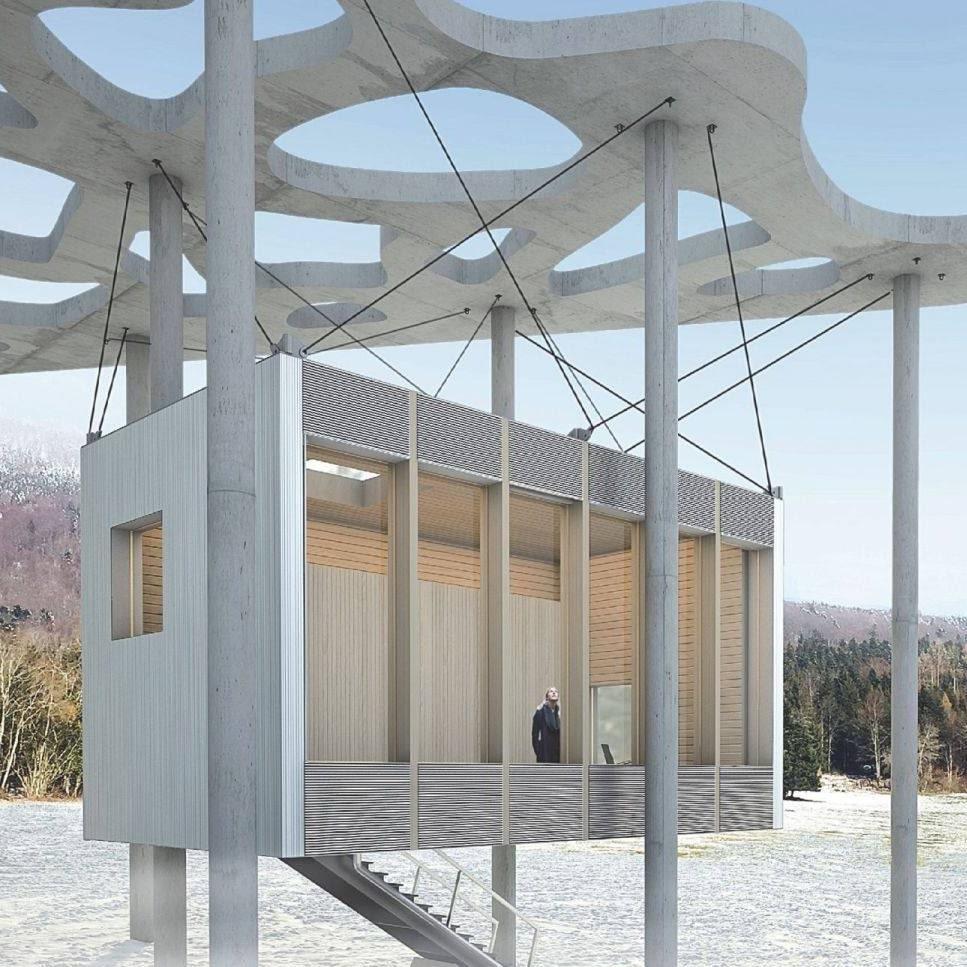 Резиденция для писателей вкомплексе фонда Яна Михальского в Швейцарии. Источник: fondation-janmichalski.com