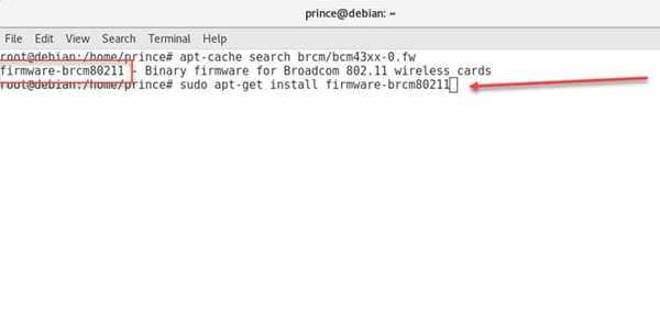 install missing firmware