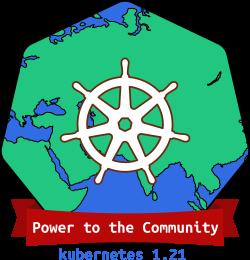 Kubernetes 1.21 Release Logo