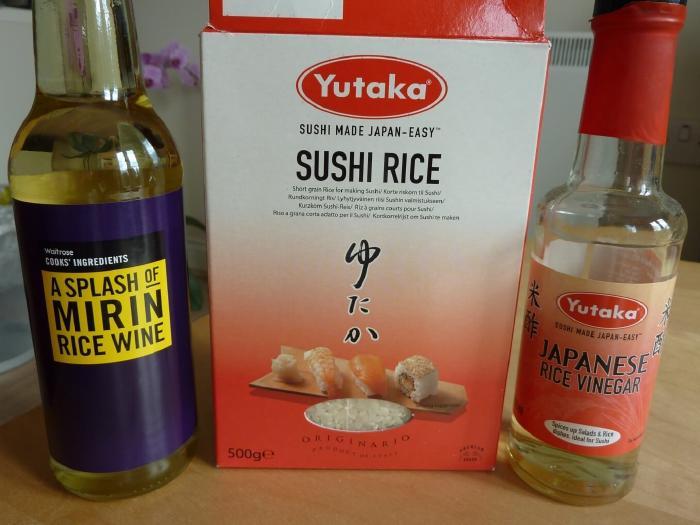 Sushi Rice Ingredients