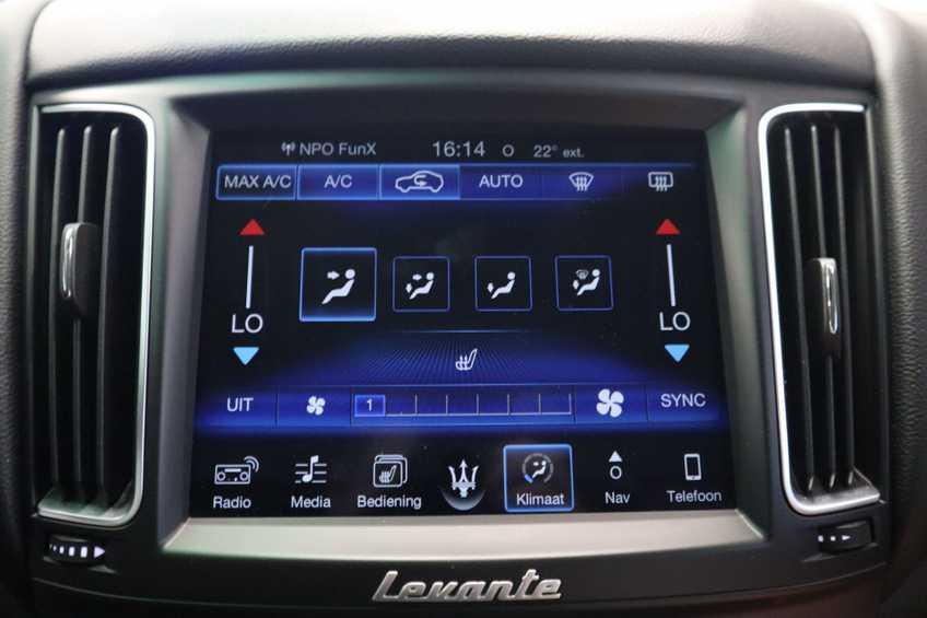 """Maserati Levante 3.0 V6 D AWD STARTECH UNIEK! Panoramadak Diamond Leder Xenon 21""""LM 275 PK! *tot 24 maanden garantie (*vraag naar de voorwaarden) afbeelding 13"""