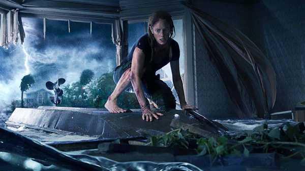 Detalhe do poster de Predadores Assassinos (crawl) de Alexandre Aja