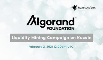 Launching Algorand liquidity mining campaign on KuCoin