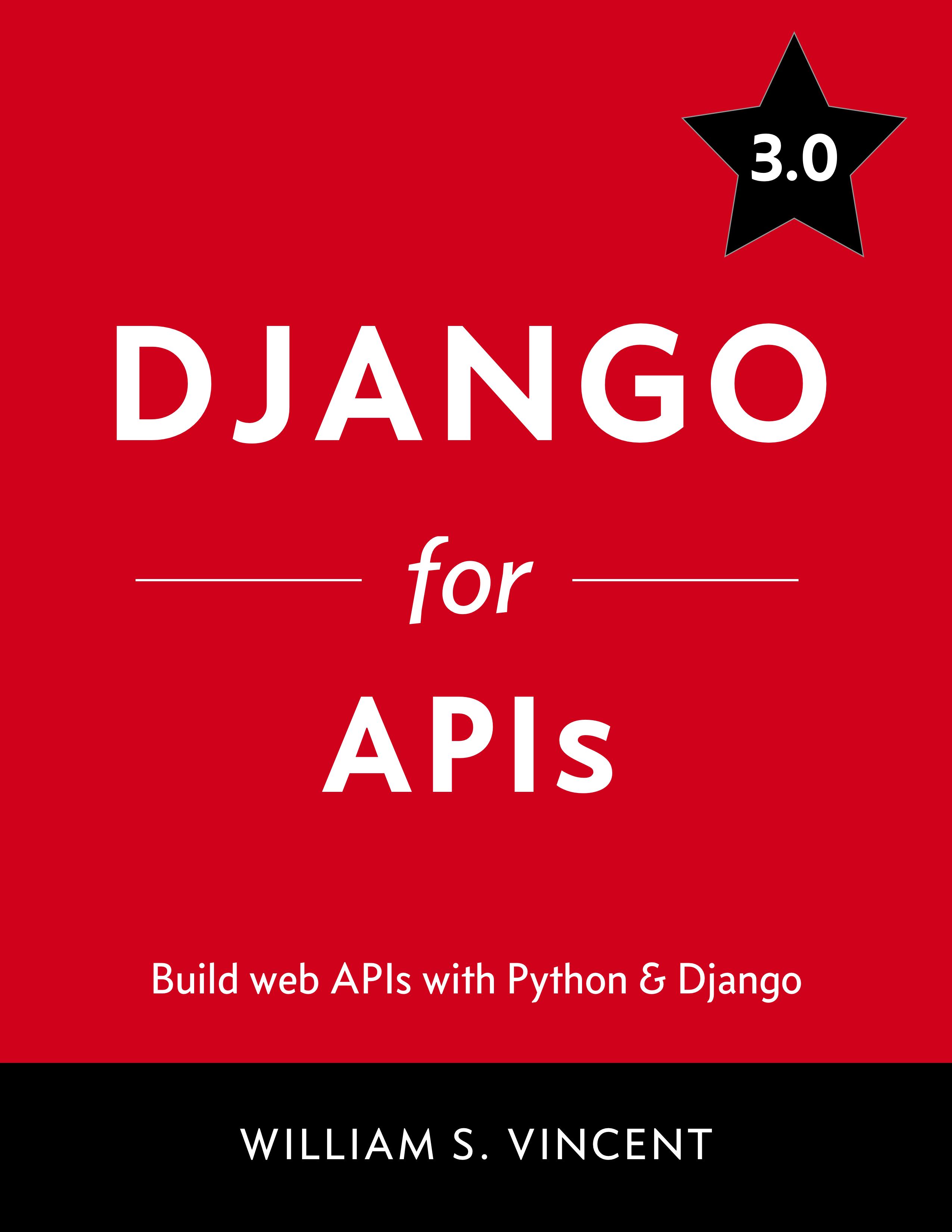 Django for APIs book cover