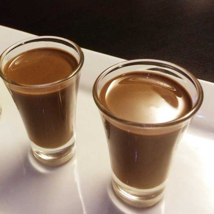 Chocolate Milk Cocktail