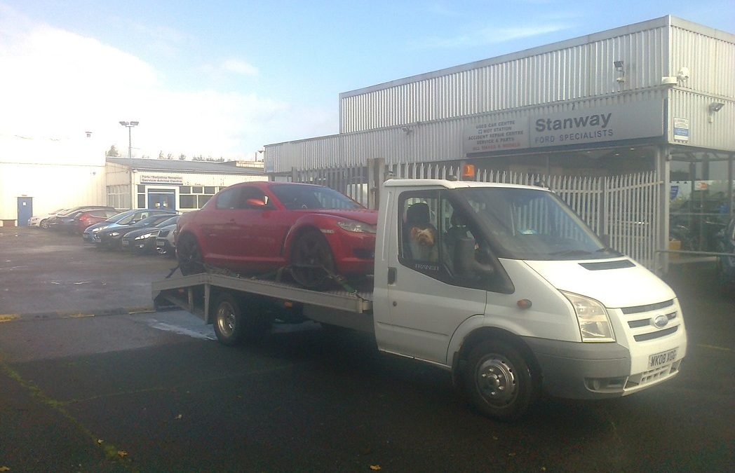Damaged repairable cars Bought In Lytham, Lancashire – Mazda Rx-8
