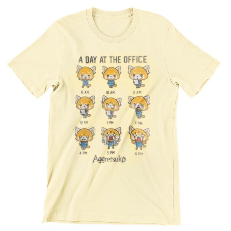 Aggretsuko Light Yellow Aggressive Retsuko T-shirt