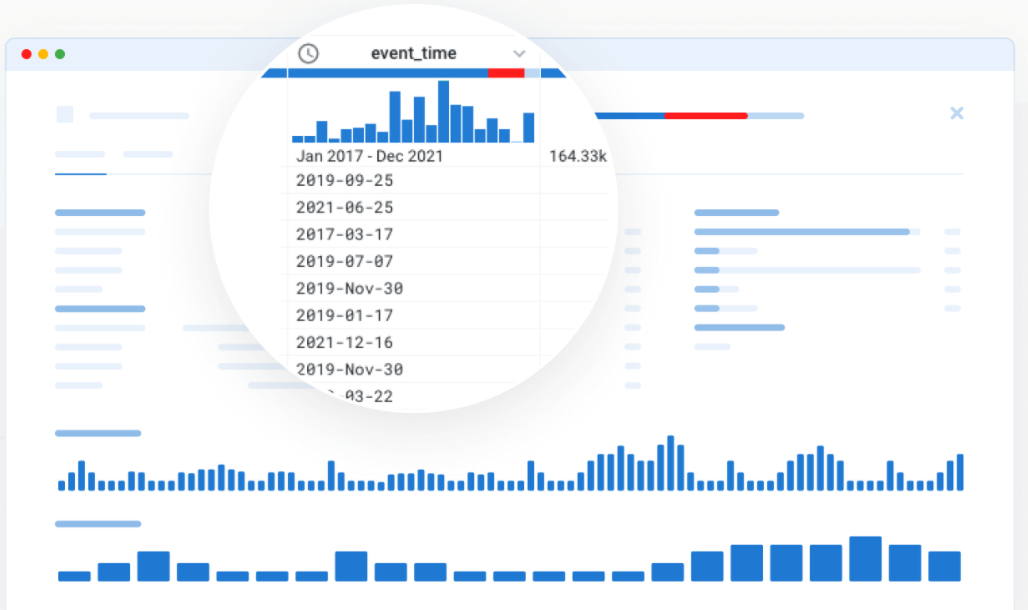 A Trifacta dashboard showing data cleaning.