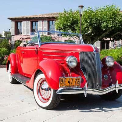 Ford V8 DeLuxe 2 Door Roadster 1936 2