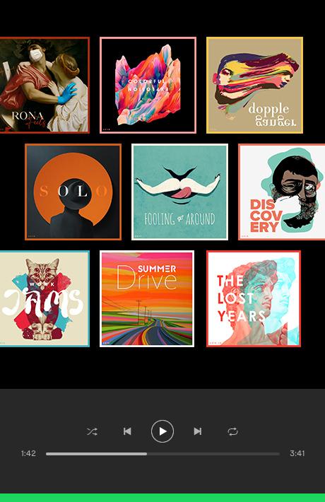 Kegham + Spotify Playlists