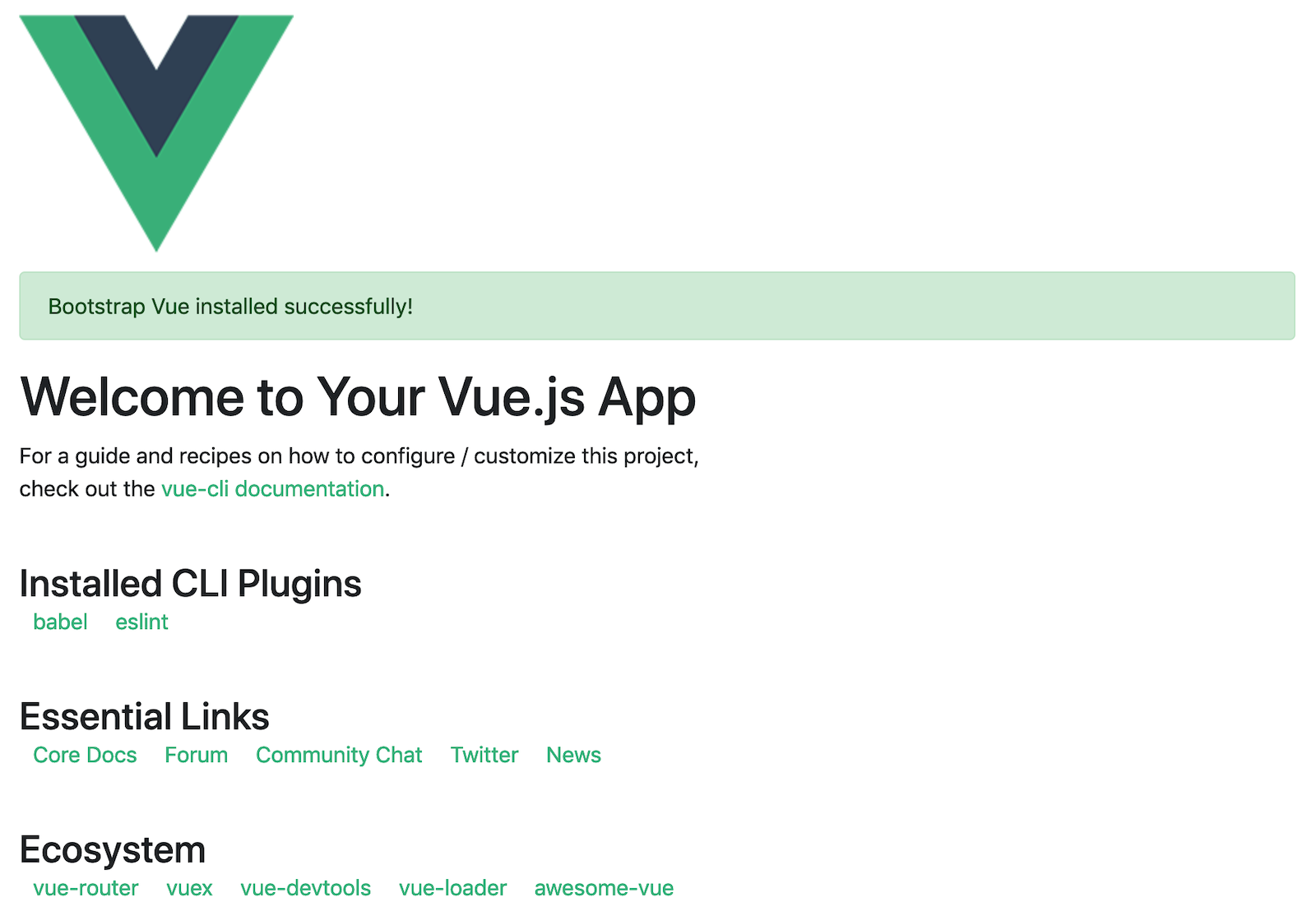 Vue with Bootstrap