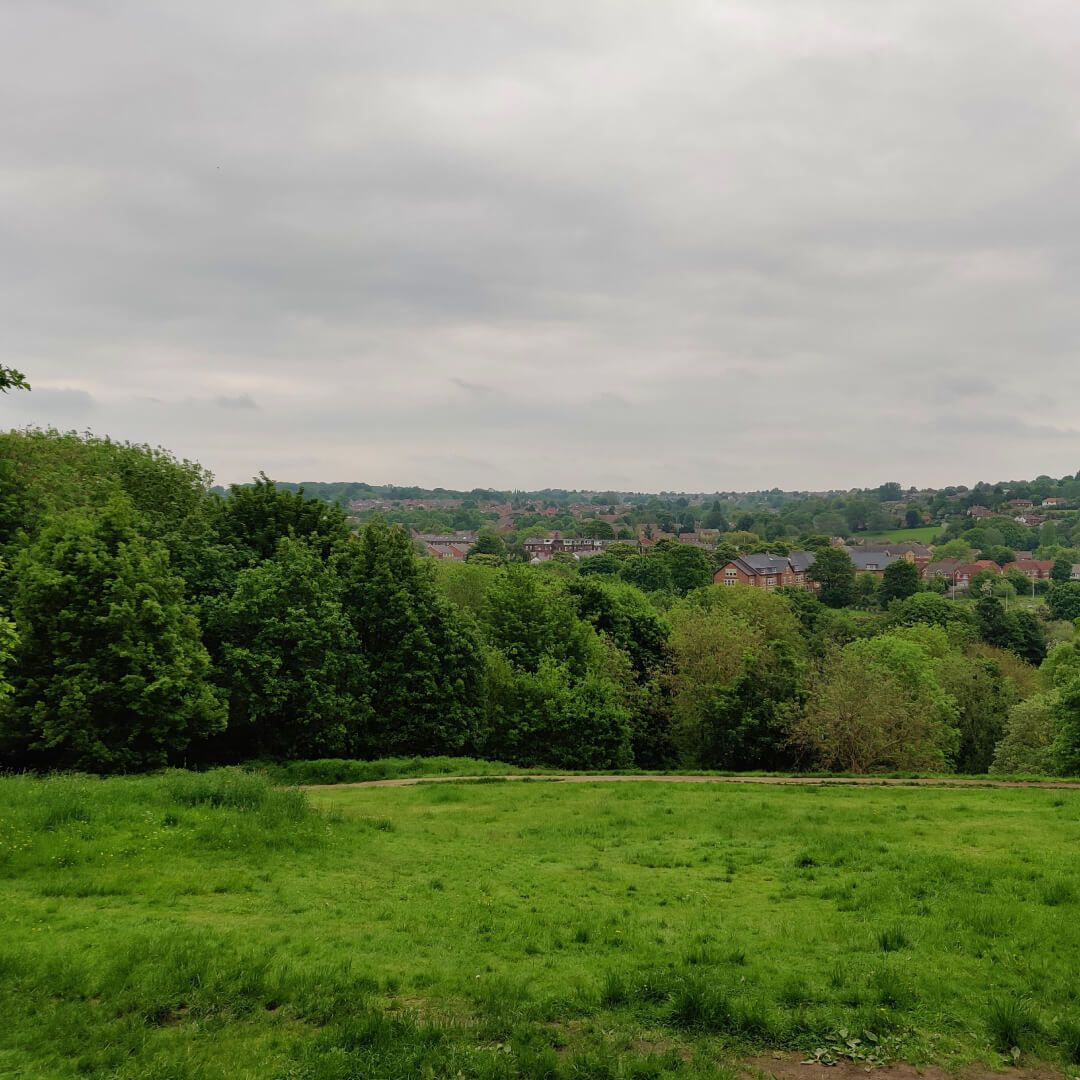 Woodhouse Ridge view over Meanwood